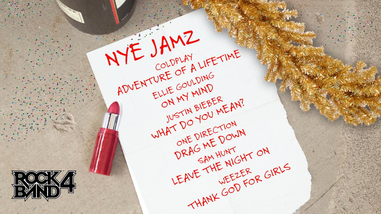 Harmonix Blog: DLC Week of 12/28 = New Year\'s Eve Jams