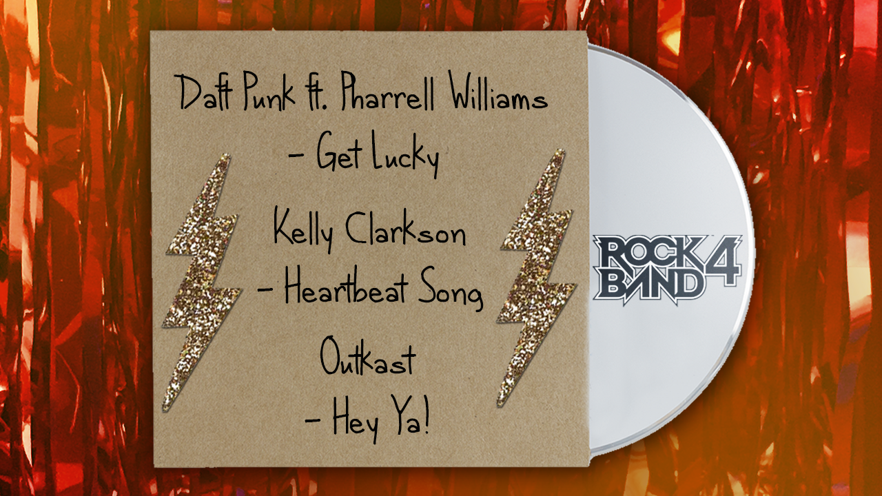 Harmonix Blog: DLC Week of 2/1 – Daft Punk, Kelly Clarkson, and Outkast!