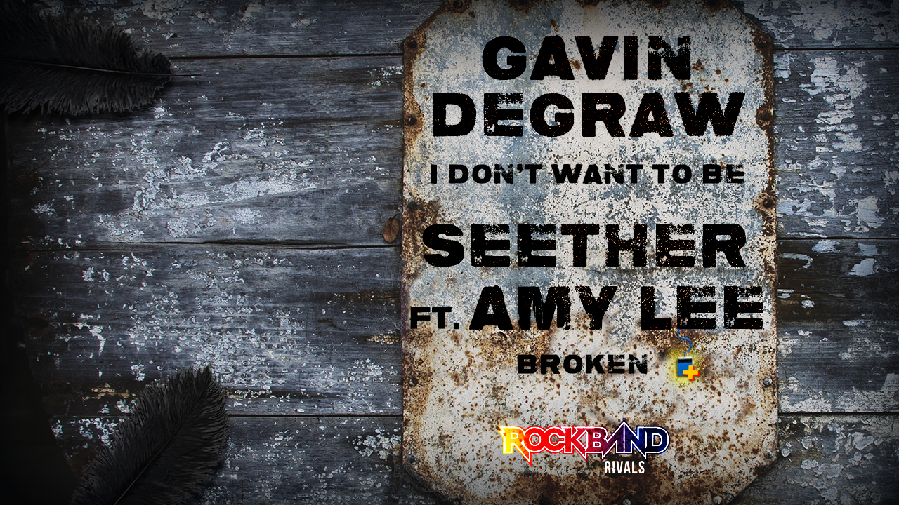 Harmonix Blog Dlc Week Of 222 Gavin Degraw And Seether Ft Amy Lee