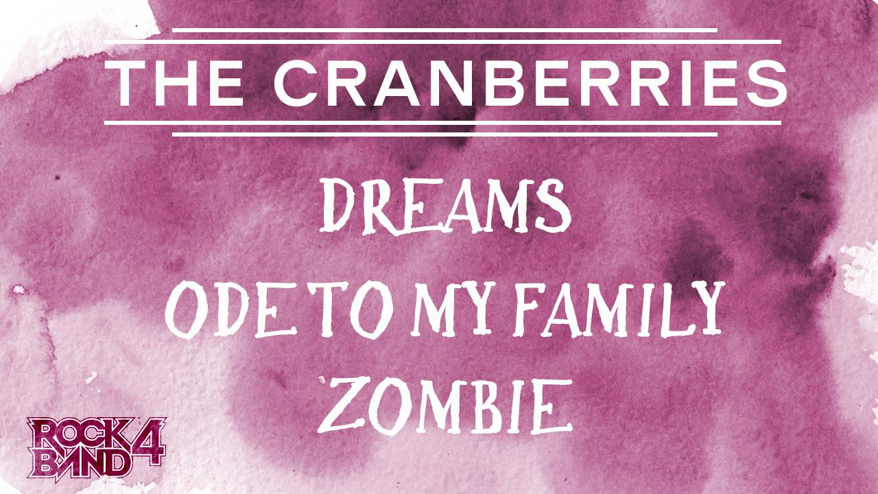 Harmonix Blog Dlc Week Of 314 The Cranberries