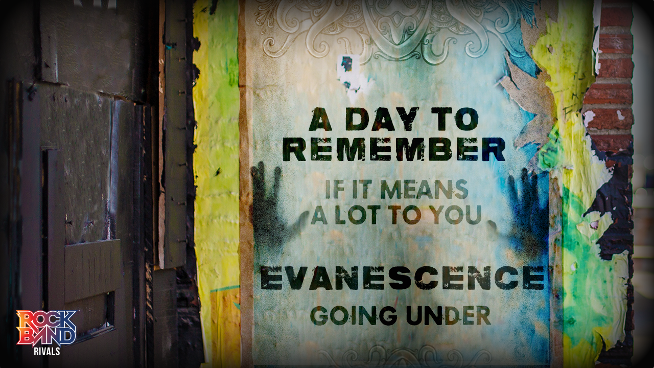 Harmonix Blog Dlc Week Of 531 A Day To Remember And Evanescence