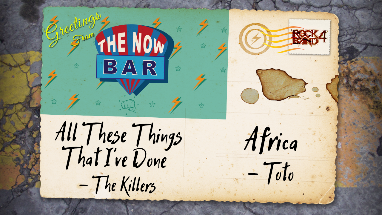 Harmonix Blog: DLC Week of 6/27 = The Killers & Toto