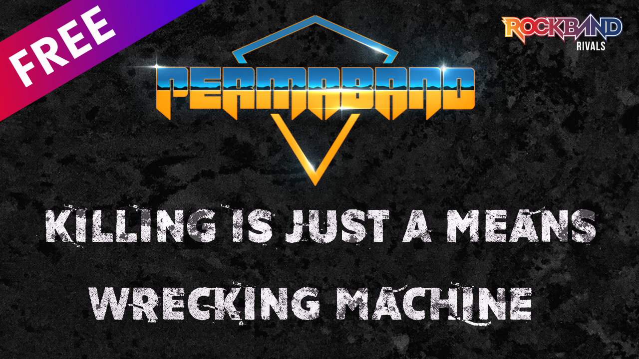 wrecking machine permaband