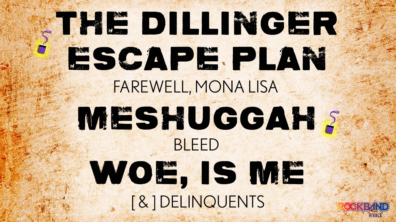 d7e2462a35 Songs from The Dillinger Escape Plan