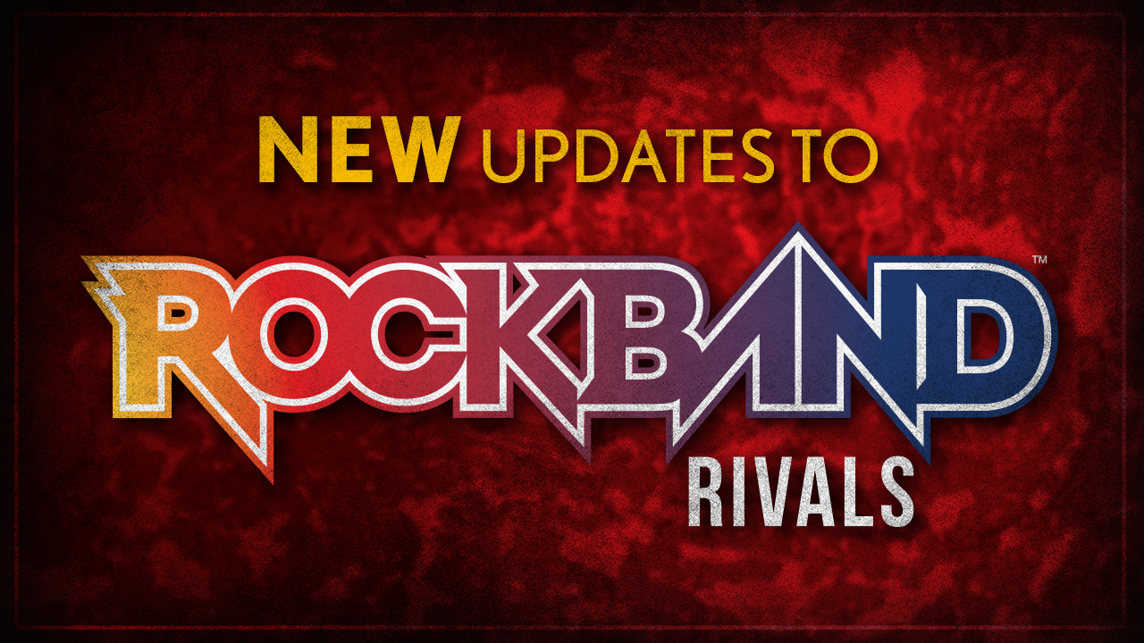 Harmonix Blog: New Rock Band 4 Update Now Out!