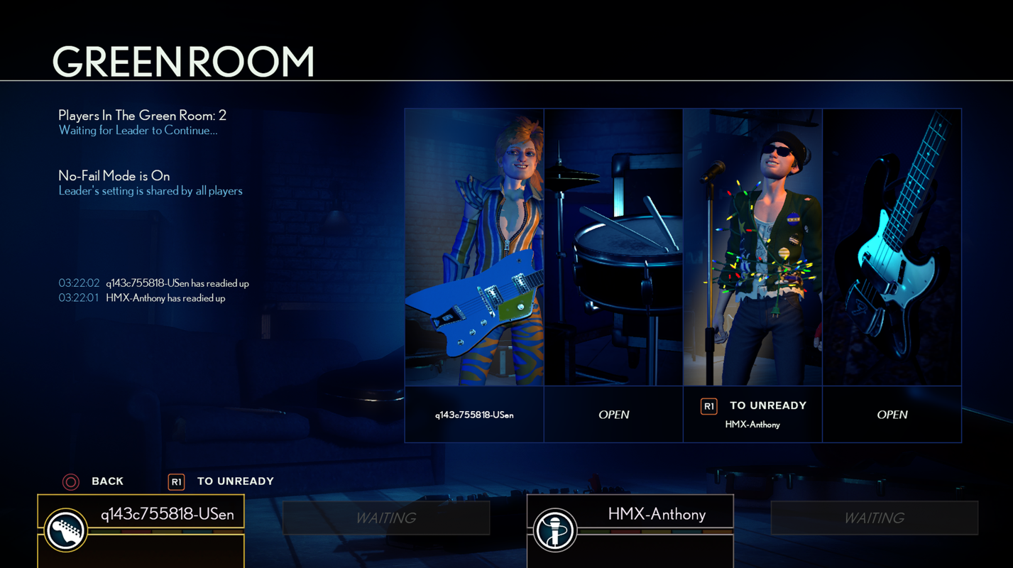Harmonix Blog: The Ins and Outs of Online Quickplay – Rivals