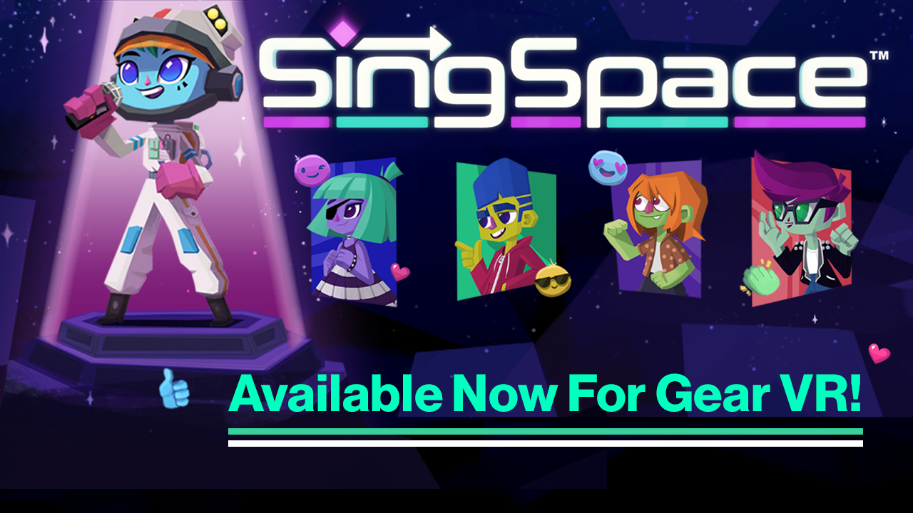 73734e68e1d410 The time has come to make a pit stop at the end of the galaxy for an  intergalactic karaoke VR experience – SingSpace is officially available  today for ...