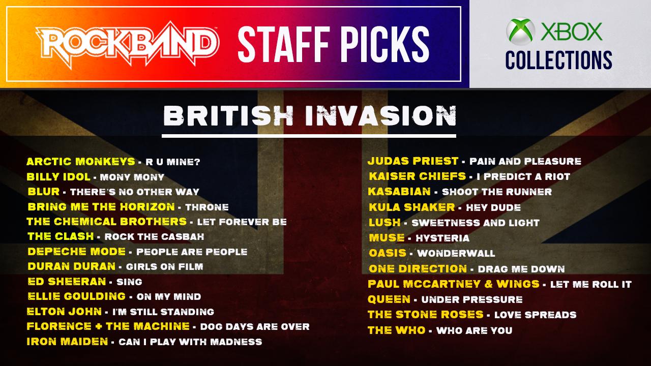 Harmonix Blog: Rock Band Rivals: Staff Picks on Xbox, Late