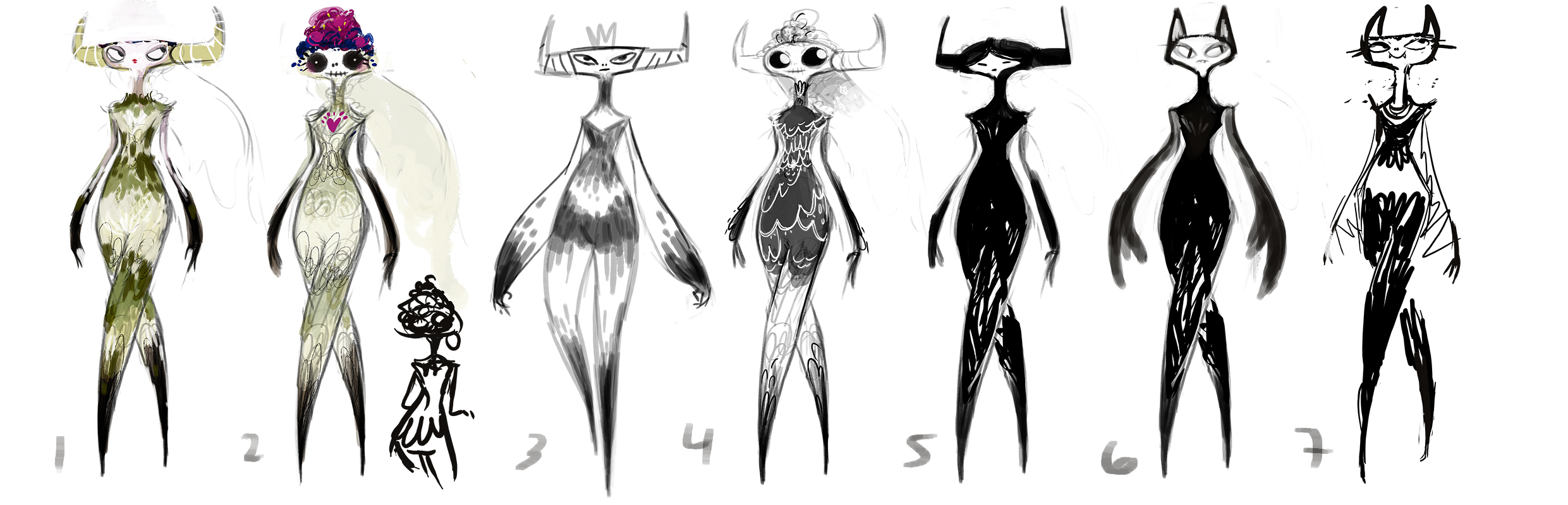 Early groove state concepts for Tina.