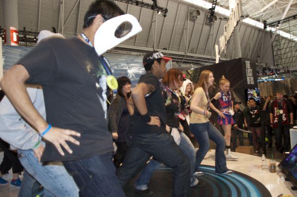 Group Dance Gangnam Style!