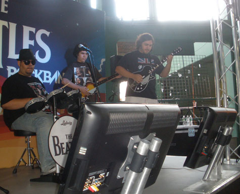 Harmonix Blog: The Beatles: Rock Band at Fenway Park