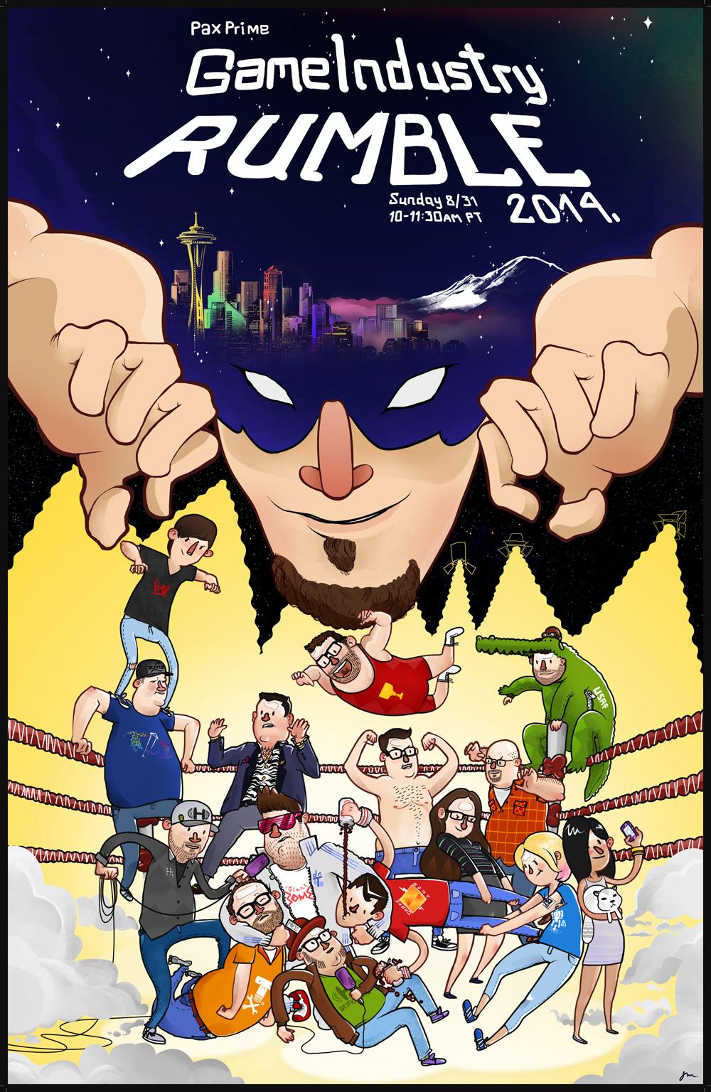PAX Prime 2014 Rumble Panel